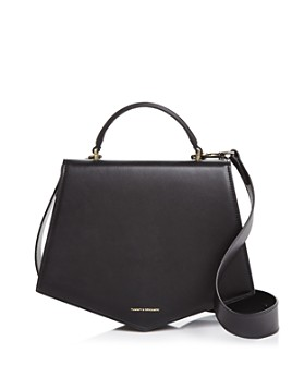 Tammy & Benjamin - Pentagone 28 Leather Shoulder Bag