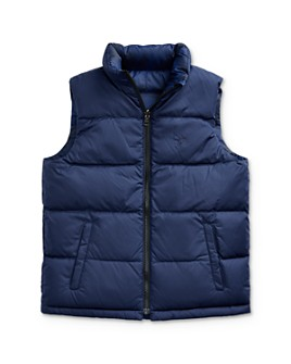 Ralph Lauren - Boys' Reversible Camo Down Vest, Big Kid - 100% Exclusive