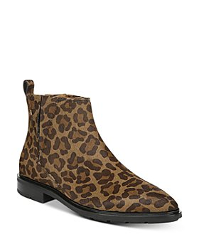 Via Spiga - Women's Emelin Leopard-Print Ankle Booties