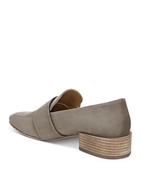 Via Spiga - Women's Brilee Stacked Heel Loafers
