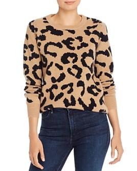 Madeleine Thompson - Grumpy Leopard-Print Cashmere Sweater