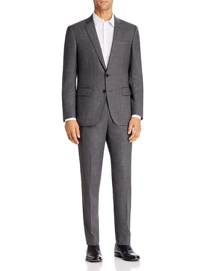 BOSS - Huge/Genius Birdseye Slim Fit Suit