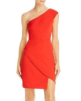 BCBGMAXAZRIA - One-Shoulder Sheath Dress