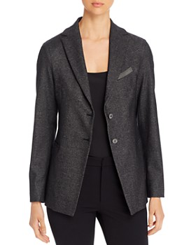 Fabiana Filippi - Bead-Trimmed Two-Button Blazer