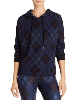 AQUA - Plaid Hooded Sweatshirt - 100% Exclusive