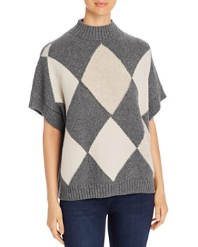 Fabiana Filippi - Cashmere Argyle Sweater