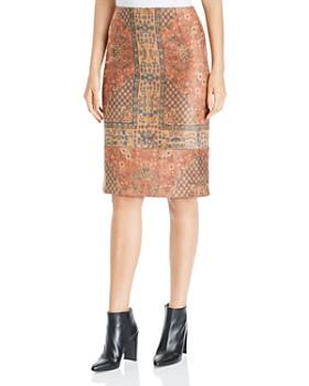 Kobi Halperin - Devon Tile-Print Skirt