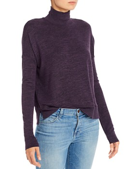 rag & bone - Jane Space-Dye Turtleneck Top - 100% Exclusive