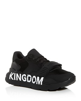 Burberry - Men's Ramsey Kingdom Leather Low-Top Sneakers