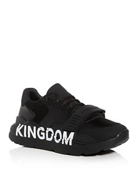 Burberry - Men's Ramsey Kingdom Leather Low-Top Sneakers