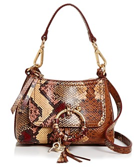 See by Chloé - Joan Snake-Print Crossbody