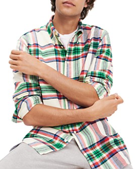 Tommy Hilfiger - Classic Fit Flannel Button-Down Shirt