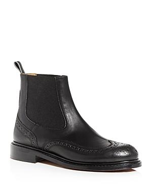 Clergerie Boots WOMEN'S RACHEL BROGUE WINGTIP BOOTIES