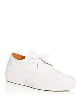 Clergerie - Women's Tolka Brogue Wingtip Sneakers