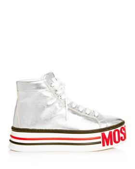 Moschino - Women's Logo High-Top Platform Sneakers