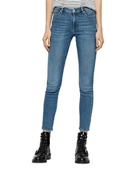 ALLSAINTS - Grace Ankle Skinny Jeans in Indigo Blue