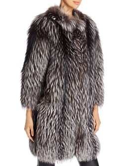 Maximilian Furs - Tipped Fox Fur Jacket - 100% Exclusive