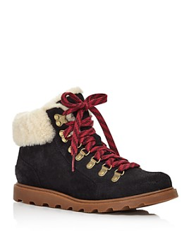 Sorel - Women's Ainsley Conquest Weatherproof Booties - 100% Exclusive