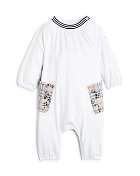 Burberry - Girls' Maddy Star-Check Romper - Baby