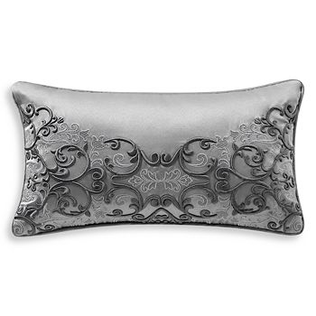 "Waterford - Vernon Embroidered Decorative Pillow, 11"" x 20"""
