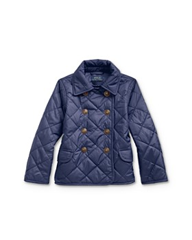 Ralph Lauren - Girls' Quilted Double-Breasted Jacket - Little Kid