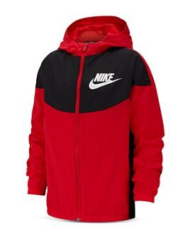 Nike - Unisex Color-Block Logo Jacket - Big Kid
