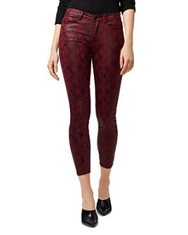 Sanctuary - Social Standard High-Rise Ankle Skinny Jeans in Cobra Garnet