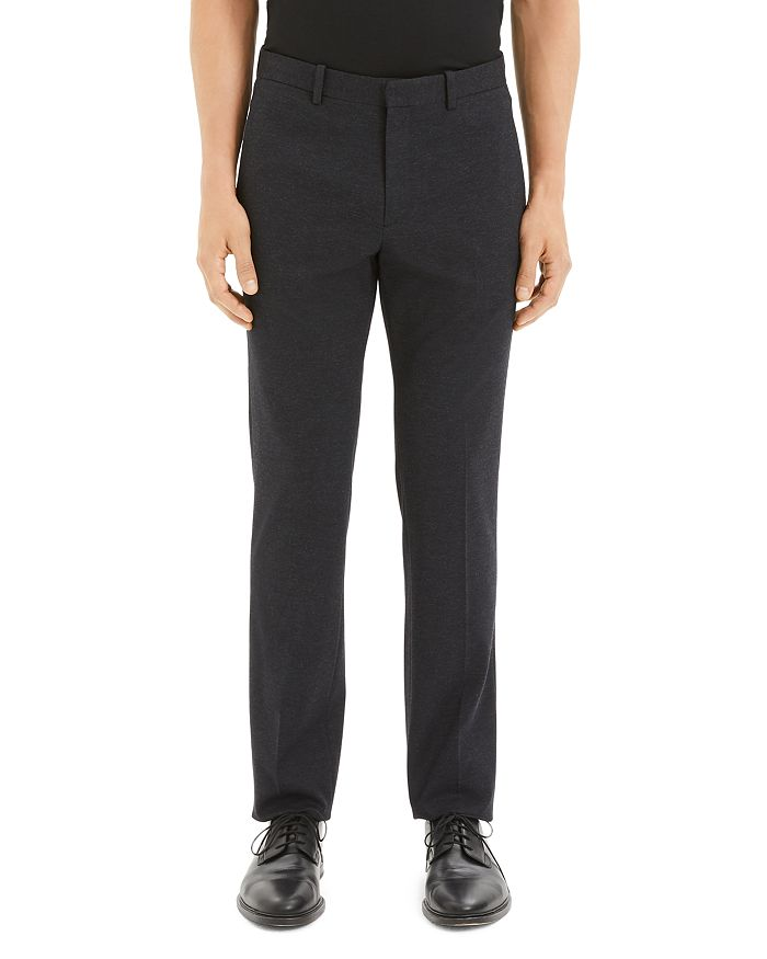 Theory - Payton Marled Ponte Regular Fit Trousers
