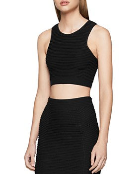 BCBGENERATION - Ribbed Cropped Top