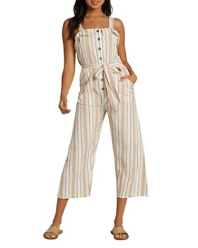 Billabong - Sandy Toes Cropped Wide-Leg Jumpsuit