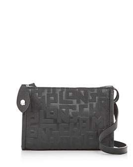 Longchamp - La Voyaguese Leather Crossbody