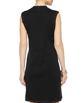 Misook - Stud-Trim Knit Dress