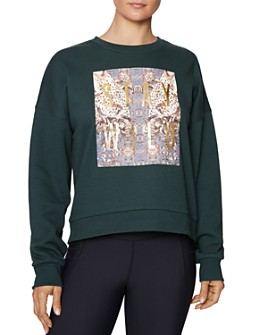 Betsey Johnson - Stay Wild Fleece Sweatshirt