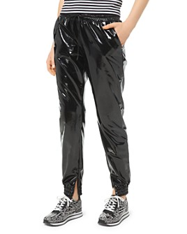 MICHAEL Michael Kors - Glossy Jogger Pants