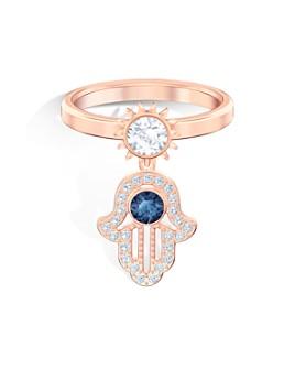 Swarovski - Symbolic Hamsa Motif Ring