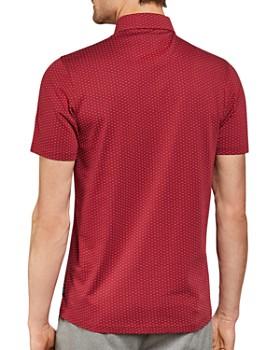 Ted Baker - Canari Dot Print Regular Fit Polo Shirt