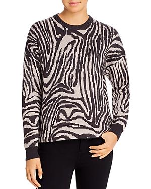T Tahari Zebra Sweater
