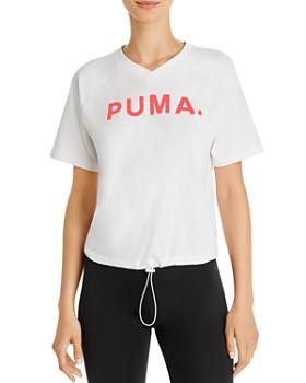 PUMA - Chase Drawcord-Hem Tee