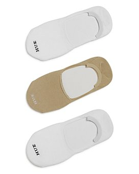 HUE - Super Soft Sneaker Liner Socks, Set of 3