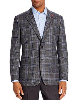 Cardinal Of Canada - Brushed Plaid Regular Fit Sport Coat - 100% Exclusive