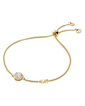 Michael Kors - Halo Slider Bracelet in Sterling Silver, 14K Gold-Plated Sterling Silver or 14K Rose Gold-Plated Sterling Silver