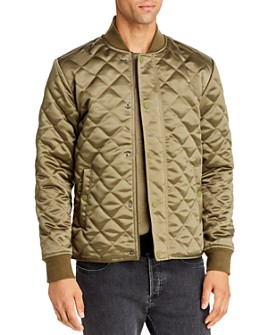 Joe's Jeans - Quilted Satin Bomber Jacket
