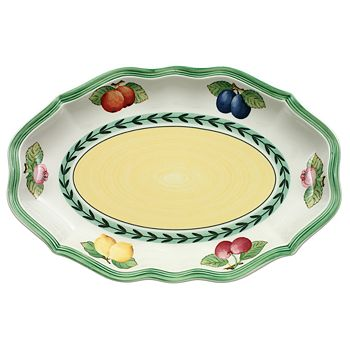 "Villeroy & Boch - ""French Garden"" Pickle Dish"