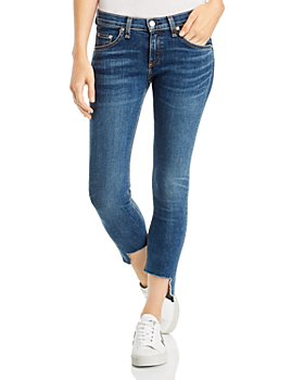rag & bone - Cate Step-Hem Ankle Skinny Jeans in Hampton