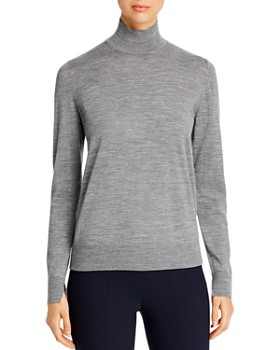 Lafayette 148 New York - Wool Stand Collar Sweater