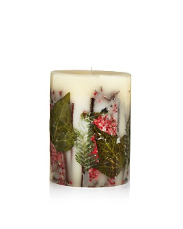 "Rosy Rings - Red Currant & Cranberry 6.5"" Round Candle"