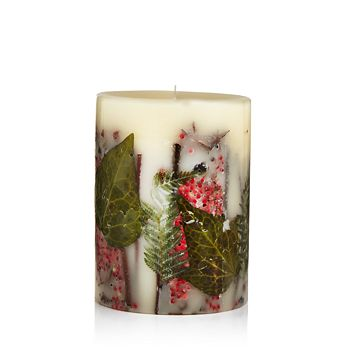 """Rosy Rings - Red Currant & Cranberry 6.5"""" Round Candle"""