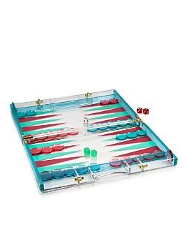 Sunnylife - Lucite Backgammon Set