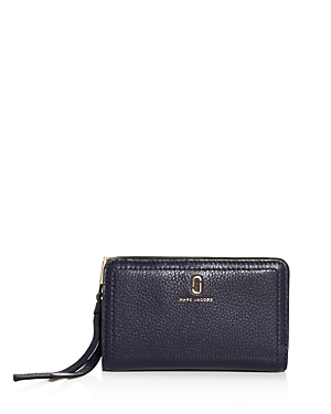 Marc Jacobs Wallets MEDIUM LEATHER COMPACT WALLET