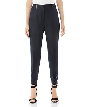 Peserico Cropped Virgin Wool-Blend Jogger Pants